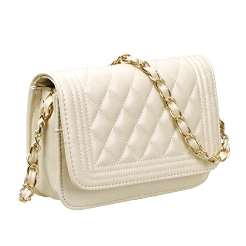 Quilted Leather Clutch Bag - 4