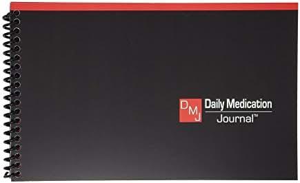 Daily Medication Journal   Medication Log   Blood Sugar Monitor   Glucose Log Book   Track Blood Pressure & Pulse   Medical Notebook   Spiral Bound   Compact Size   Full Year Medical Journal