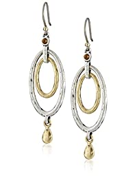 Lucky Brand Womens Mary Jane Oval Orbital Earrings