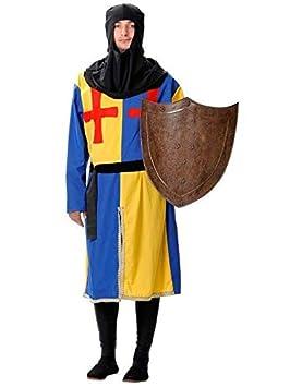 DISBACANAL Traje Medieval alabardero Hombre - Único, XXXL ...
