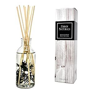 Urban Naturals Cranberry & Pine Holiday Wreath Reed Diffuser with Real Pine Needles | Holly Berry & Frosted Fir Needles | Home Gift Idea. Vegan. 4