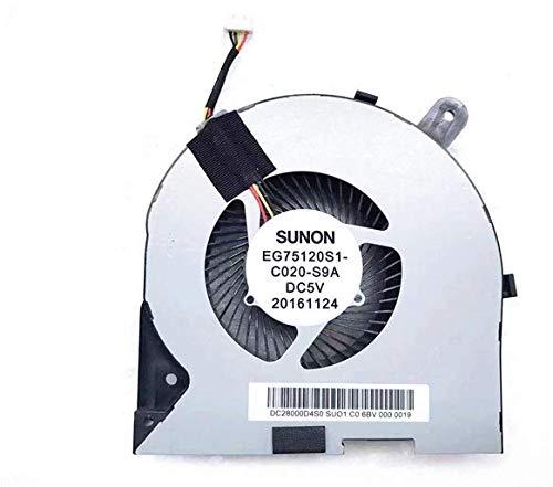 Cooler Para Lenovo Y720-15 Y720-15ikb Eg75120s1-c020-s9a