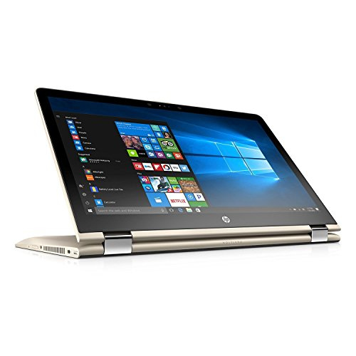 HP Pavilion X360 Convertible 2-in-1 Full HD (1920 x 1080) 15.6″ Touchscreen Premium Laptop (2017 Newest), Intel Core i5-7200U, 12GB DDR4, 1TB HDD, 802.11AC, HDMI, Bluetooth, USB Type C – Gold