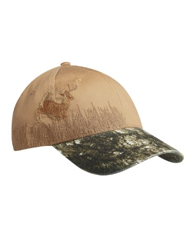 Port Authority Embroidered Camouflage Cap Mosy Oak New Break Up Tan Der One Size