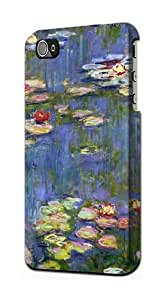 S0997 Claude Monet Water Lilies Case Cover For IPHONE 4 4S
