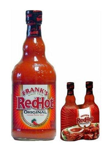 Frank's Redhot Cayenne Pepper Sauce - 2/23Oz
