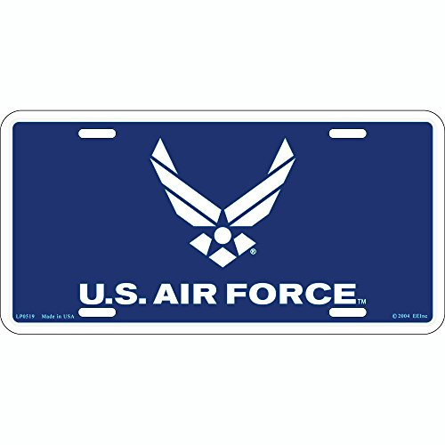 Air Force Plate - US Air Force Logo License Plate
