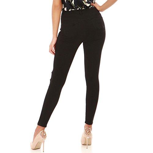 Skinny La l'avant Modeuse Destroy Noir Jeans UqZqfEwO