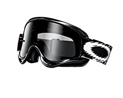 Oakley Xs O-frame With Clear Lens Included Mx Goggles Xs O Frame & Clear Af Lens (Jet Black , One Size)