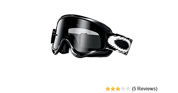 563887152b1 Amazon.com  Oakley XS O-Frame Sand Youth Off-Road Motorcycle Goggles - Jet  Black Grey One Size  Sports   Outdoors
