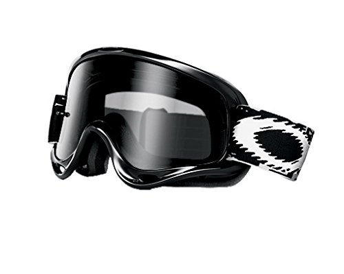 Oakley XS O-Frame with Clear Lens included MX Goggles XS O Frame & Clear AF Lens (jet black , One Size) ()