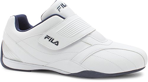 Fila Men's Mach T Fashion Sneakers, White Man-Made, Rubber, 10.5 M from Fila