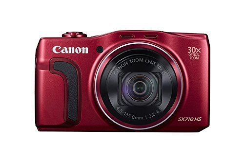 Canon PowerShot SX710 20.3MP 30x Optical Zoom Lens HS Digital Camera, Red – (Certified Refurbished) Review
