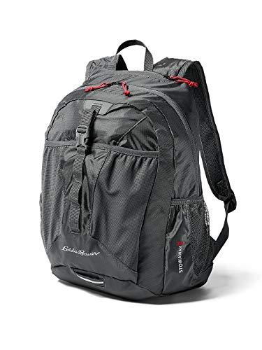 Eddie Bauer Unisex-Adult Stowaway 30L Packable Pack, Dk Smoke Regular ONESZE