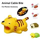 12Pieces Cable Bites Animals Phone Cable Protector Cord Cute Animal Phone Accessory Protects Cable Accessory Creative Gift