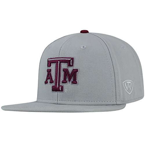 Top of the World Texas A&M Aggies Official NCAA Adjustable League Snap Back Hat Cap 281957