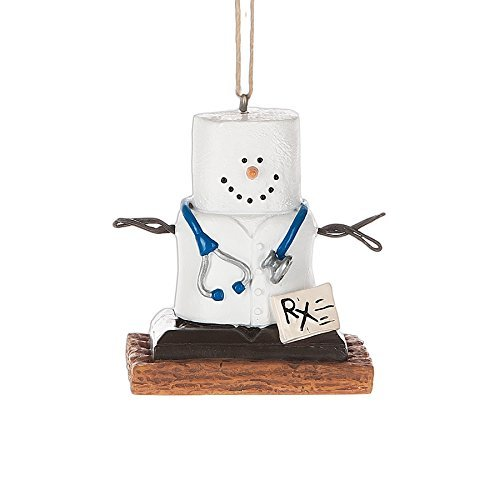 S'Mores Doctor Christmas/ Everyday Ornament