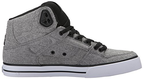 DC HI TX SE WC Black Heather ADYS400004 SPARTAN BKB Grey Sneaker Herren ArHgqA