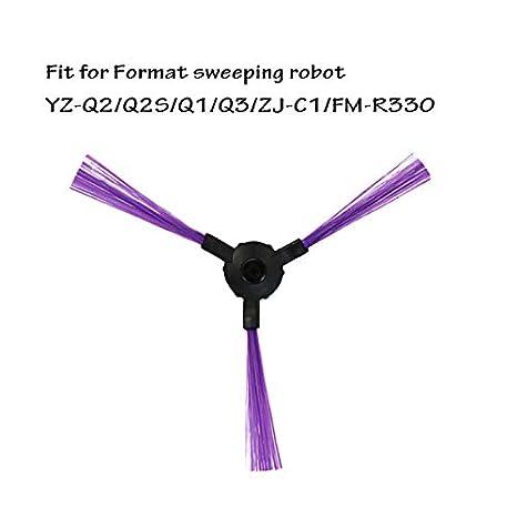 SogYupk 5 Pares de cepillos Laterales Aptos para el Robot barredor Fmart YZ- Q2 / Q2S / Q1 / Q3 / ZJ-C1 / FM-R330: Amazon.es: Hogar