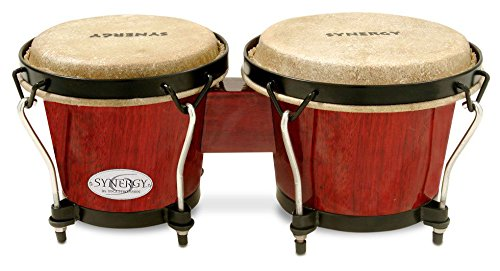 Toca 2100RR Bongo Drum, Red by Toca