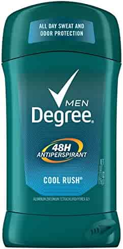 Degree Men Original Protection Antiperspirant Deodorant, Cool Rush, 2.7 oz
