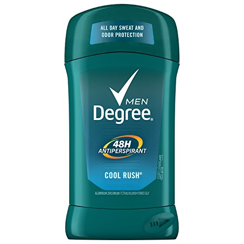 Degree Men's 48 hour Antiperspirant ,Cool Rush, 2.7oz