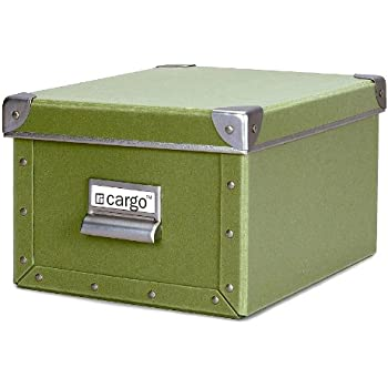 Cargo Naturals Media Storage Box Sage 6 by 10-3/4 by  sc 1 st  Amazon.com & Amazon.com: Cargo Naturals Media Storage Box Sage 6 by 10-3/4 by 8 ...