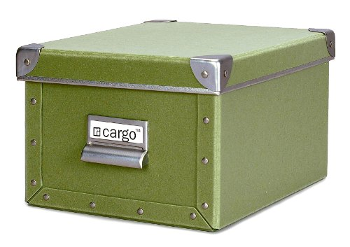 cargo Naturals Media Storage Box, Sage, 6 by 10-3/4 by 8-Inch
