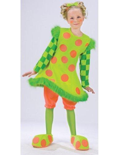Lolli the Clown Child Costume - Medium