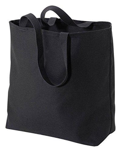 Port & Company Jumbo Tote Bag (B300) Black