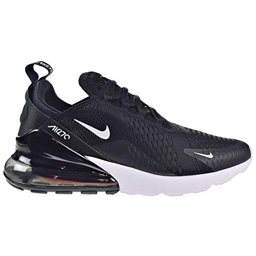 Nike Mens Air Max 270 Running Shoes Black/White/Solar Red/Anthracite AH8050-002 Size 10
