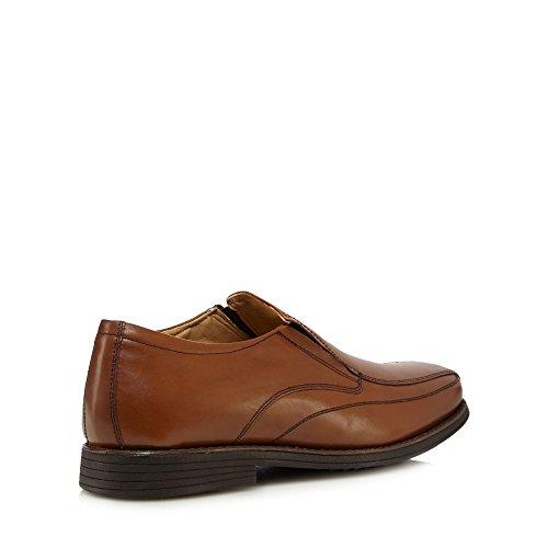 Comfort marrón hombre cordones claro de Henley de sin para Zapatos cuero qaw8IaR