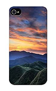 DnXqgMk1963ZuCzG Snap On Skin Case For Sam Sung Note 4 Cover (beautiful Dusk Sky Over The Mountain Range)/ Appearance Nice Gift For Christmas