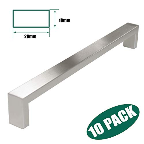 Probrico Stainless Steel Cabinet Hardware Drawer Bar Long Handle Pull 10