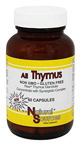 Natural Sources All Thymus Capsules product image