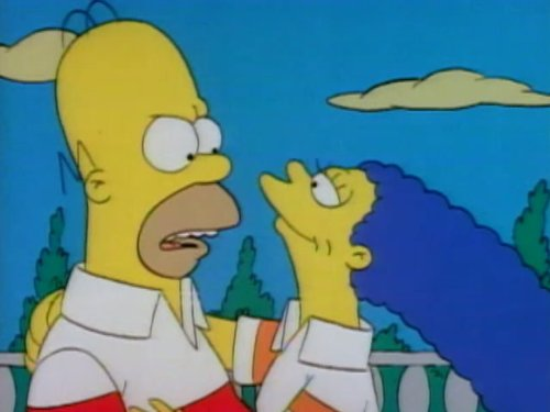 There's No Disgrace Like Home (Homer Simpsons Face)