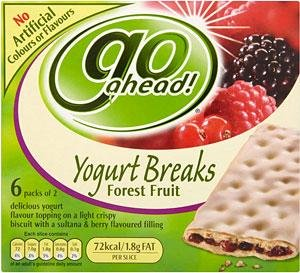 Go Ahead! Yogurt Breaks (Product)