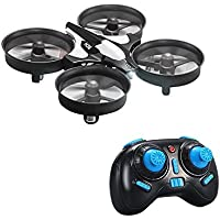 Dayan Anser Headless Mode Micro Quadcopter, Memory Function One Key Return Mini Drone, Battery Charging Protection Intelligence UFO RTF Quadcopter (Grey)