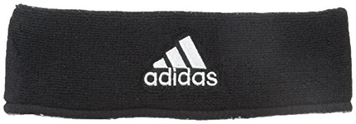 adidas Interval Reversible Headband, Black/White / Aluminum 2/Black, One Size Fits All