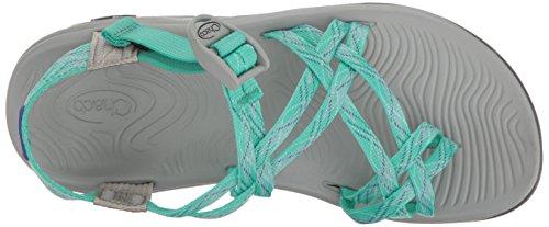 Chaco Damen Zvolv X2 Athletic Sandale Monster Minze