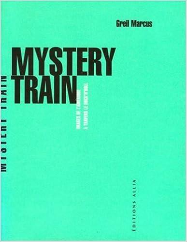 Lire un Mystery train epub pdf
