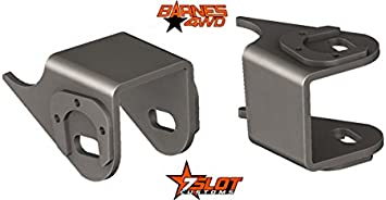 Jeep Wrangler TJ Front Lower Control Arm Brackets Heavy Duty Steel Replacements