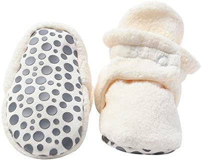 Zutano Cozie Fleece Booties Grippers product image