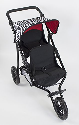 Adjustable Double Stroller - 8