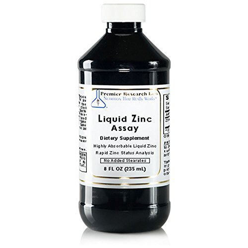 Liquid Zinc Assay by Premier Research Labs (8 fl oz)