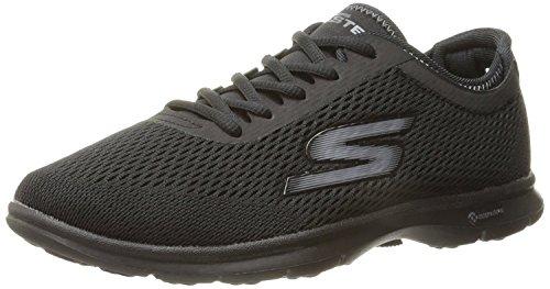Skechers Performance Womens Go Step-Sport Walking Shoe,Black,8 M US