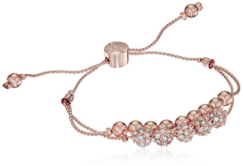 GUESS Rose Gold Bracelet with Stones - Guess Gold Bracelet Jewelry