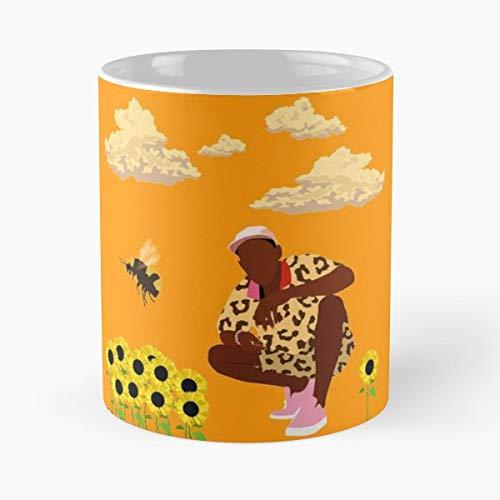 Tyler The Creator Flower Boy - Morning Coffee Mug Ceramic Best Gift (Tyler Beanie)