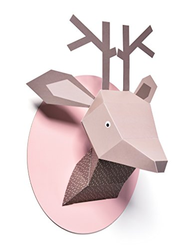 - Nursery Works Menagerie Wall Decor, Zoe The Deer Paper Bust