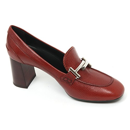T Donna B9566 Rouge Maxi Tod's Woman Scarpa doppia Decollete Shoe Rosso T70 Gomma 8qR1wE